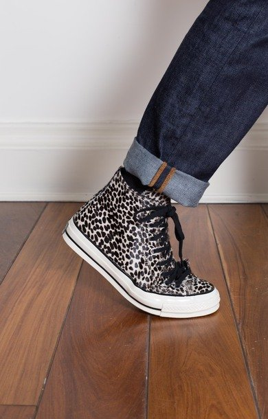 All Star '70 Vintage Hi Canvas Leopard