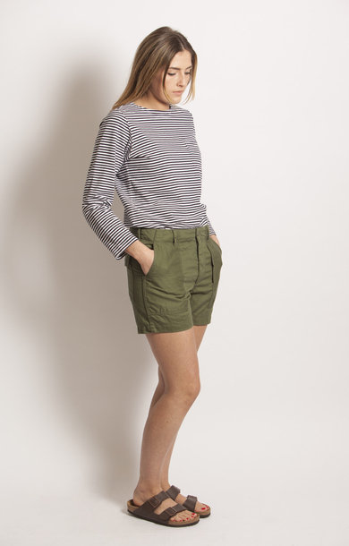 Fatigue Short Olive 20's Cotton Twill