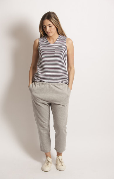 STK Pant H. Grey French Terry