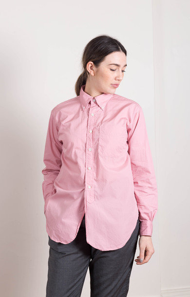 19c BD Shirt Pink Superfine Poplin
