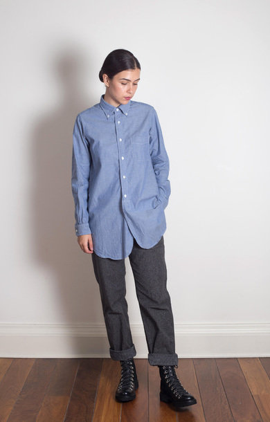 19 Century BD Shirt Lt Blue Chambray