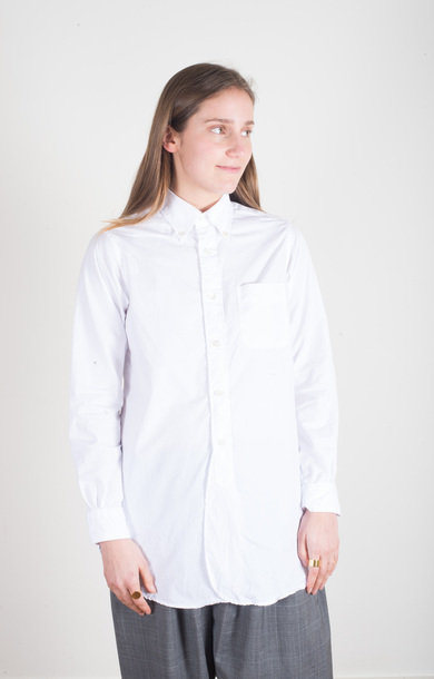19 Century BD Shirt White 2ply