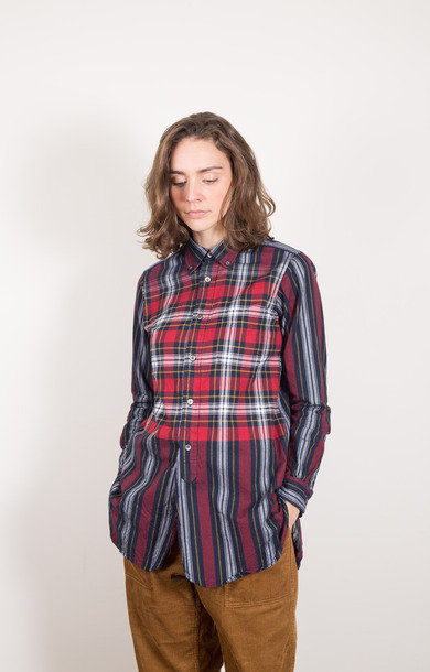 19th Century BD Shirt Navy/Red