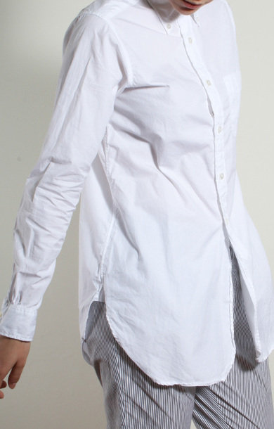 19th Century BD Shirt White 100's 2ply