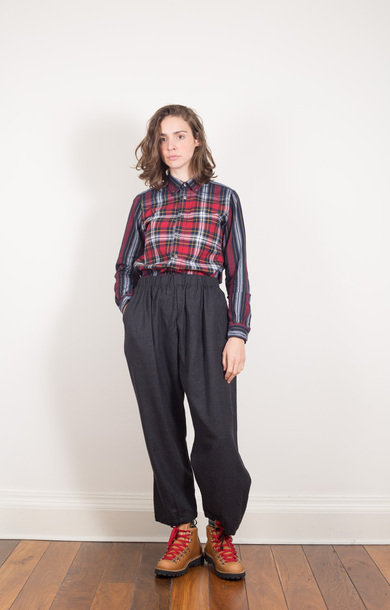 Balloon Pant Charcoal Heather