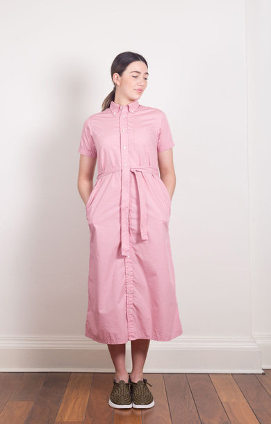 BD Shirt Dress Pink
