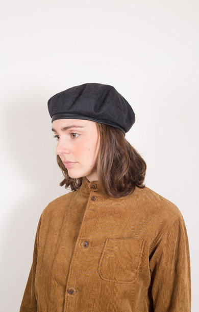 Beret Charcoal Heather