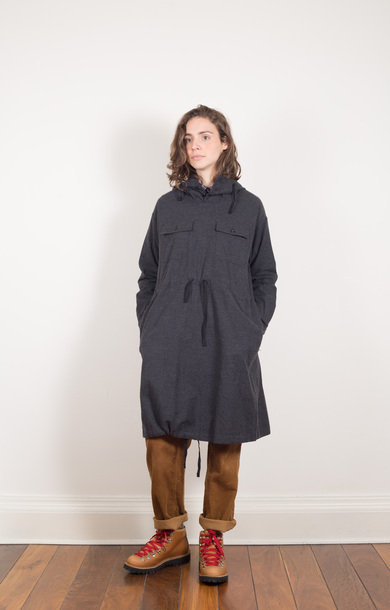 Cagoule Dress Charcoal Heather