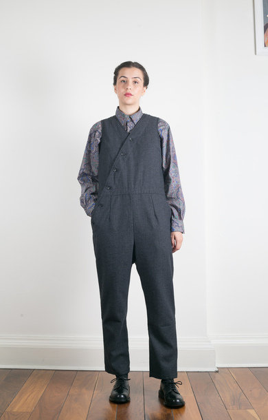 Copeland Suit Charcoal Small Herringbone