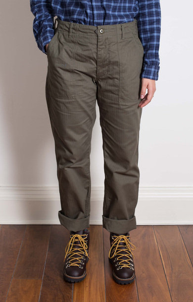 Fatigue Pant Olive Cotton