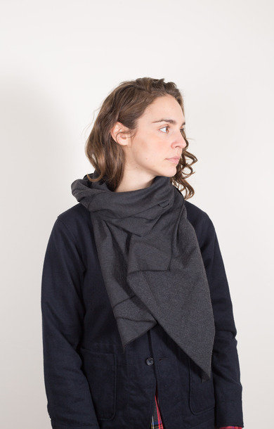 Long Scarf Charcoal Heather