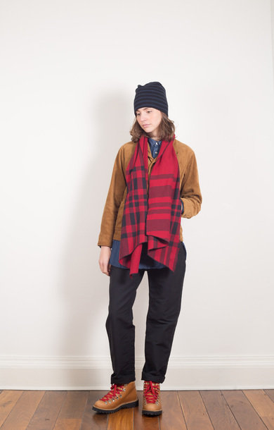 Long Scarf Red/Black