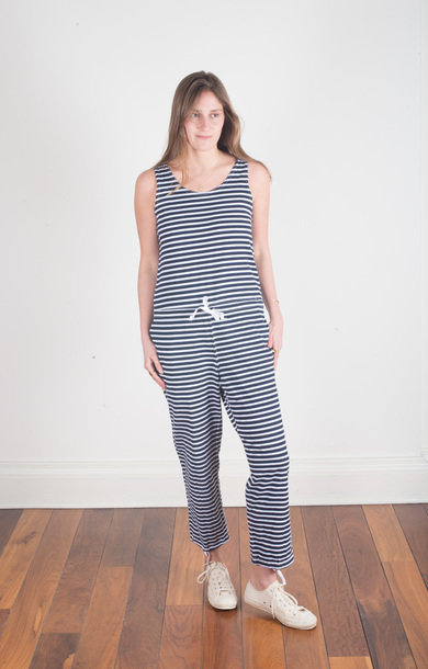 Onesie Navy/White