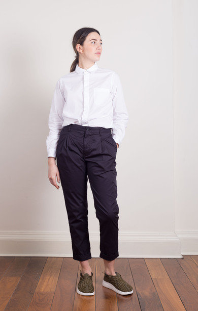 Willy Post Pant Navy