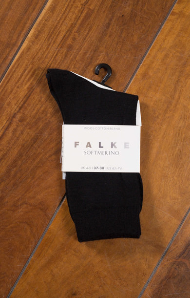 Soft Merino Socks Black