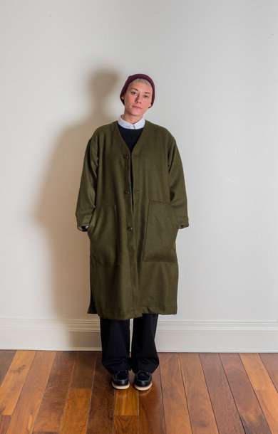 Liner Coat Forest Green