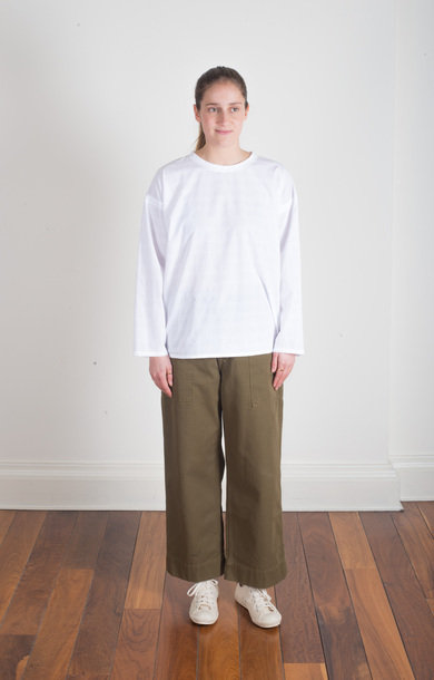 Sailor Fatigue Pant Khaki