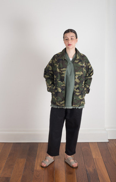 Sell Coaches Jacket Camo