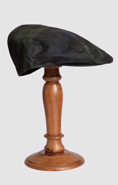 Flat Cap Black Watch