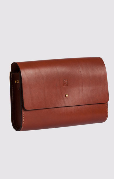 Leather Bag Dark Tan