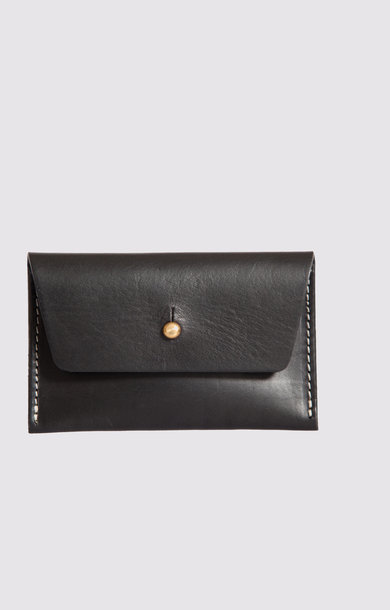 Leather Purse Black