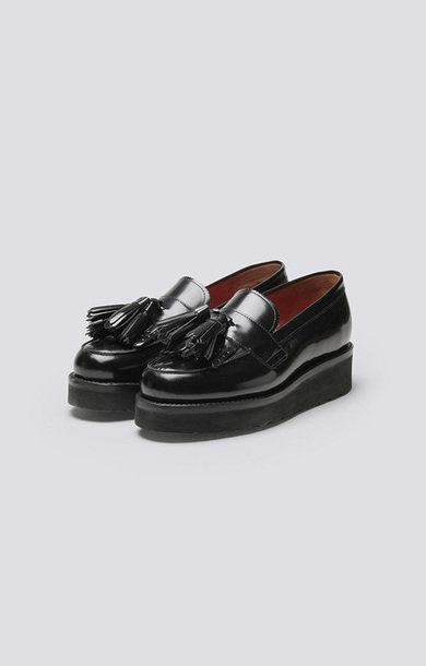 Clara Loafer Black Sole