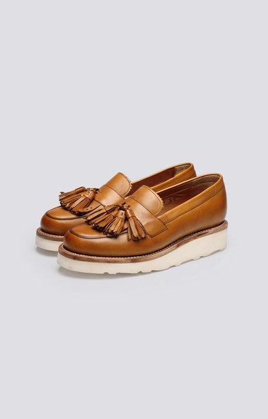 Clara Loafer Tan