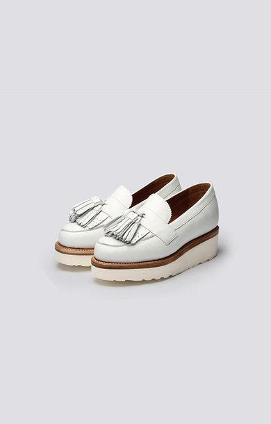 Clara Loafer White