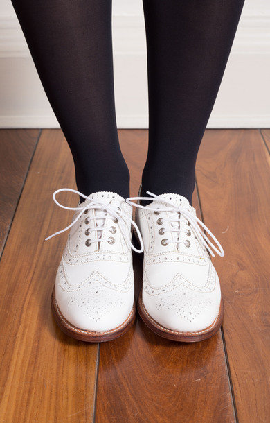 Rose Brogue White