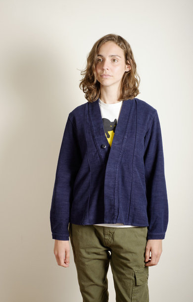 CPO Cotton Wool Hiyoko Shirt Navy