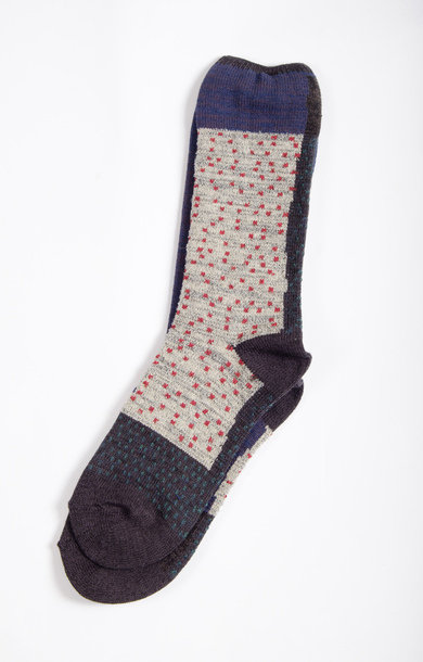 Gabbeh Patchwork Socks Black