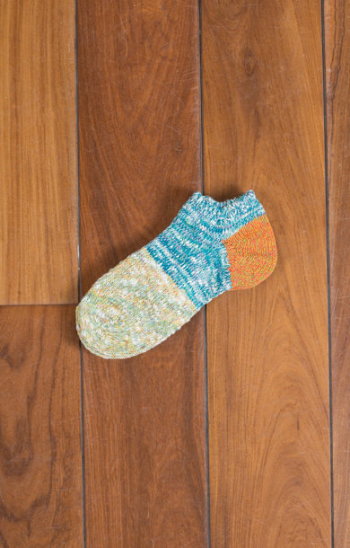 Grandelle Ankle Socks Orange