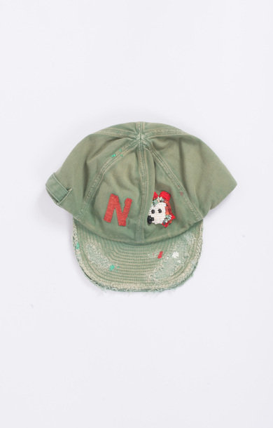 Katsuragi Cotton Cap Green