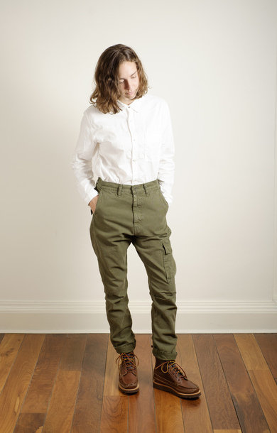 Light Canvas Ringoman Pants Khaki