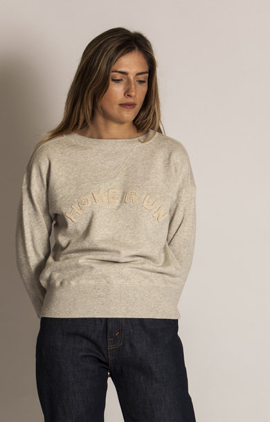 Womens Crew Sweatshirt Oatmeal