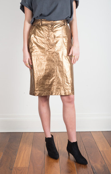 Bay Skirt Bronze