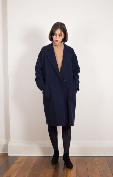 Germain Coat Navy