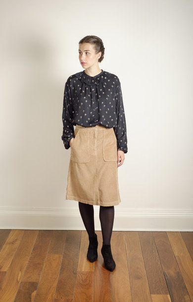 Idris Skirt Camel