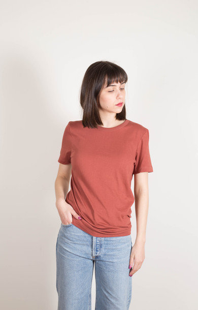 1950's Tee 1/4 Sleeve Copper