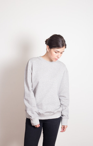 Oversized Sweatshirt Grey