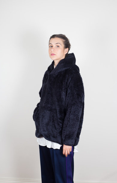 Andre Hoody Synthetic Fur