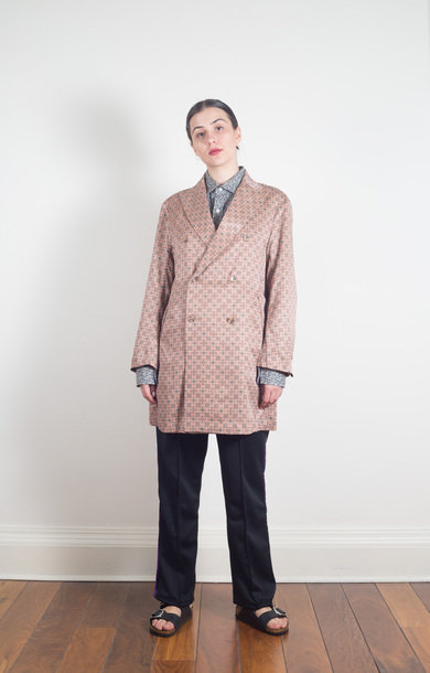 DB Coat R/C Sateen Smoke Pink