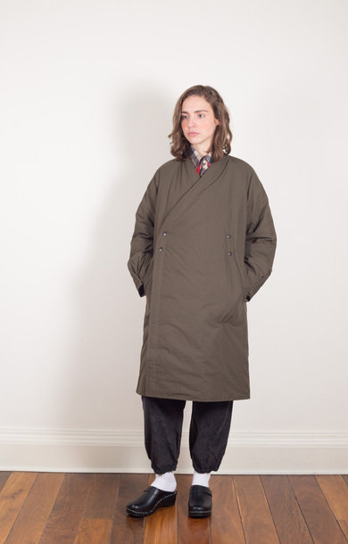 Down Samue Coat Khaki