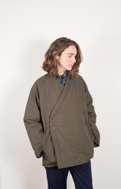 Down Samue Jacket Khaki