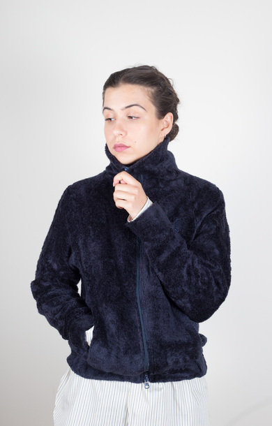 Lewis Jacket Synthetic Boa Navy