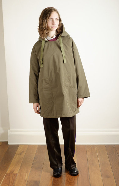 Pullover Parka Wax Olive