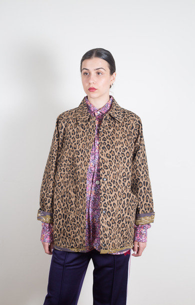 Reversible Field Jkt Leopard Tiger