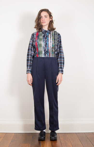 Side Line Centre Seam Pant Navy
