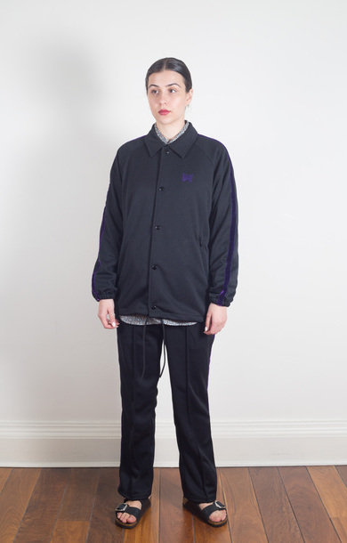 Side Line Coach Jacket Black