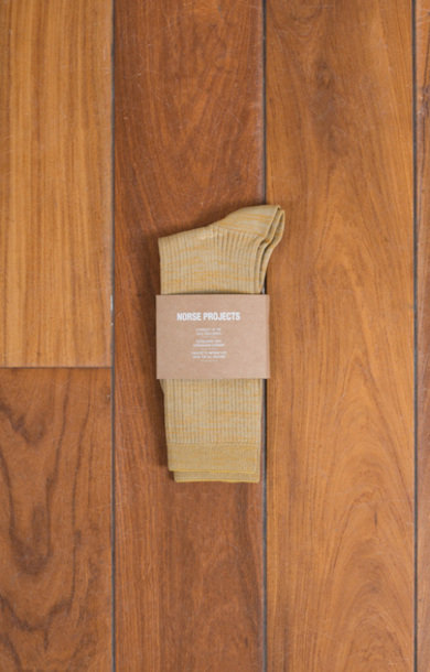 Bennedikte Sock Corn Yellow